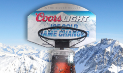 Coors Light Basketball