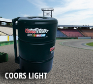 Coors Light Tire Cooler